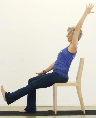 11 chair yoga poses for arthritis  yoga poses