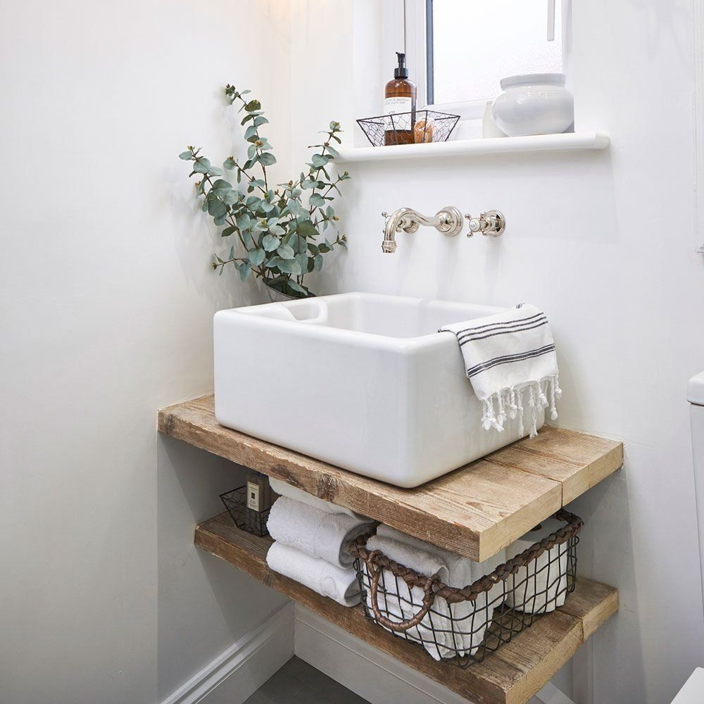 Small Bathroom Ideas Small Bathroom Decorating Ideas On A Budget In 2020 Small Bathroom Decor Small Bathroom Ideas On A Budget Bathroom Decor