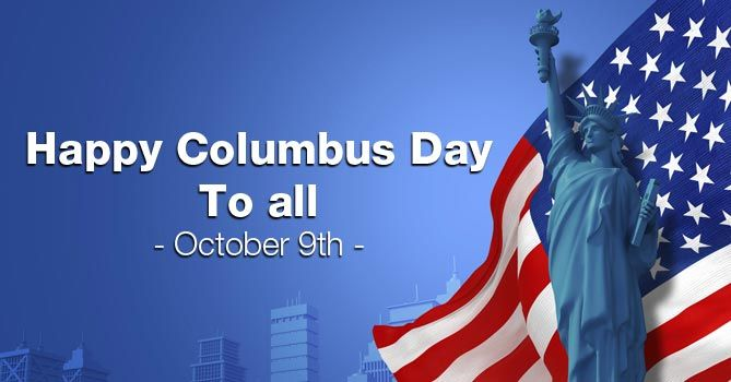 Happy Columbus Day On The Day Which Is All About Discoveries Explore The Adventures Of Life Christophe Happy Columbus Day Us Holiday Calendar Usa Holidays
