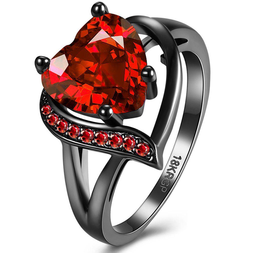 Gemsonclick Cubic Zircon 925 Sterling Silver Cut Ring 5 Carat December Birthstone Astrological Size 5-13