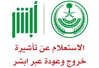 الاستعلام عن تاشيرة خروج وعودة الجوازت السعودية Arabic Calligraphy Info Calligraphy