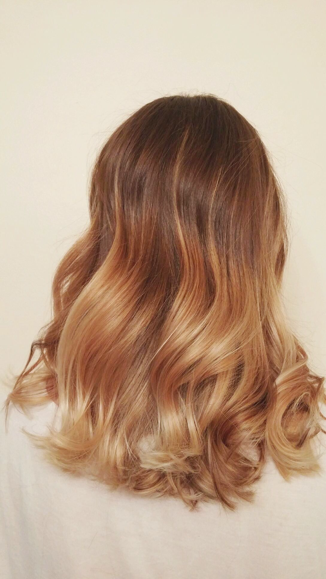 New hair! Blonde, bronde, ombre, balyage, honey, hair ...