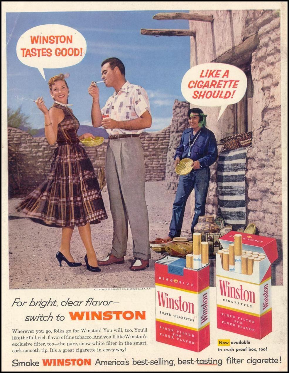 cigarettes Vintage smell