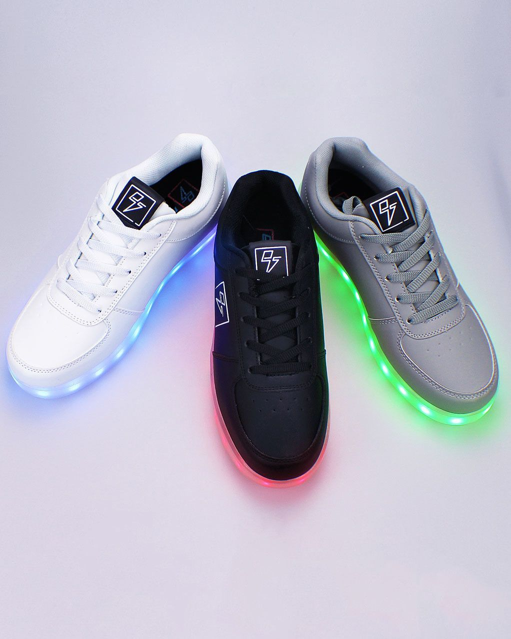 Light Up LED Shoes Bolt from Electric Styles | Light up
