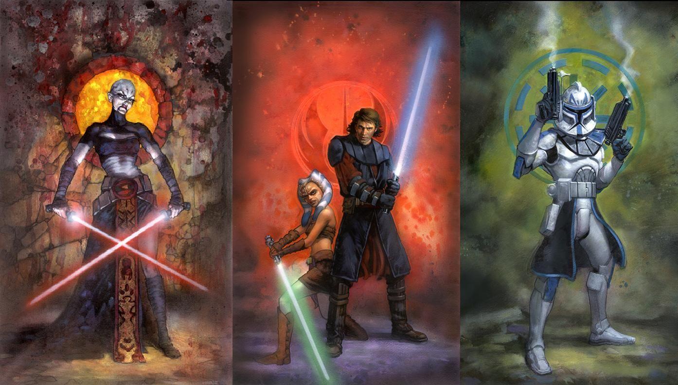Star Wars Clone Trooper Wallpapers Wallpaper По мотивам
