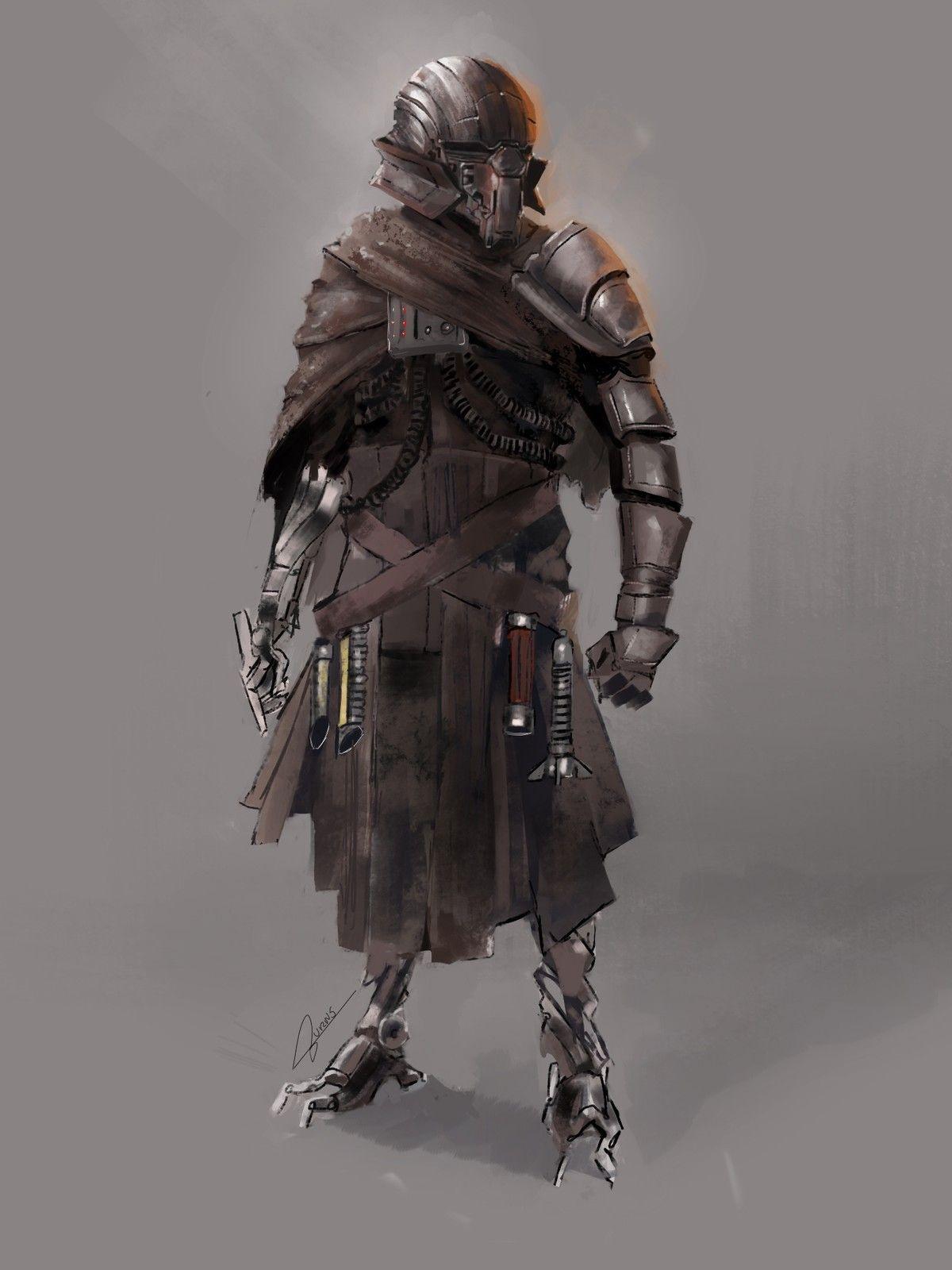 Star Wars Mercenary Art