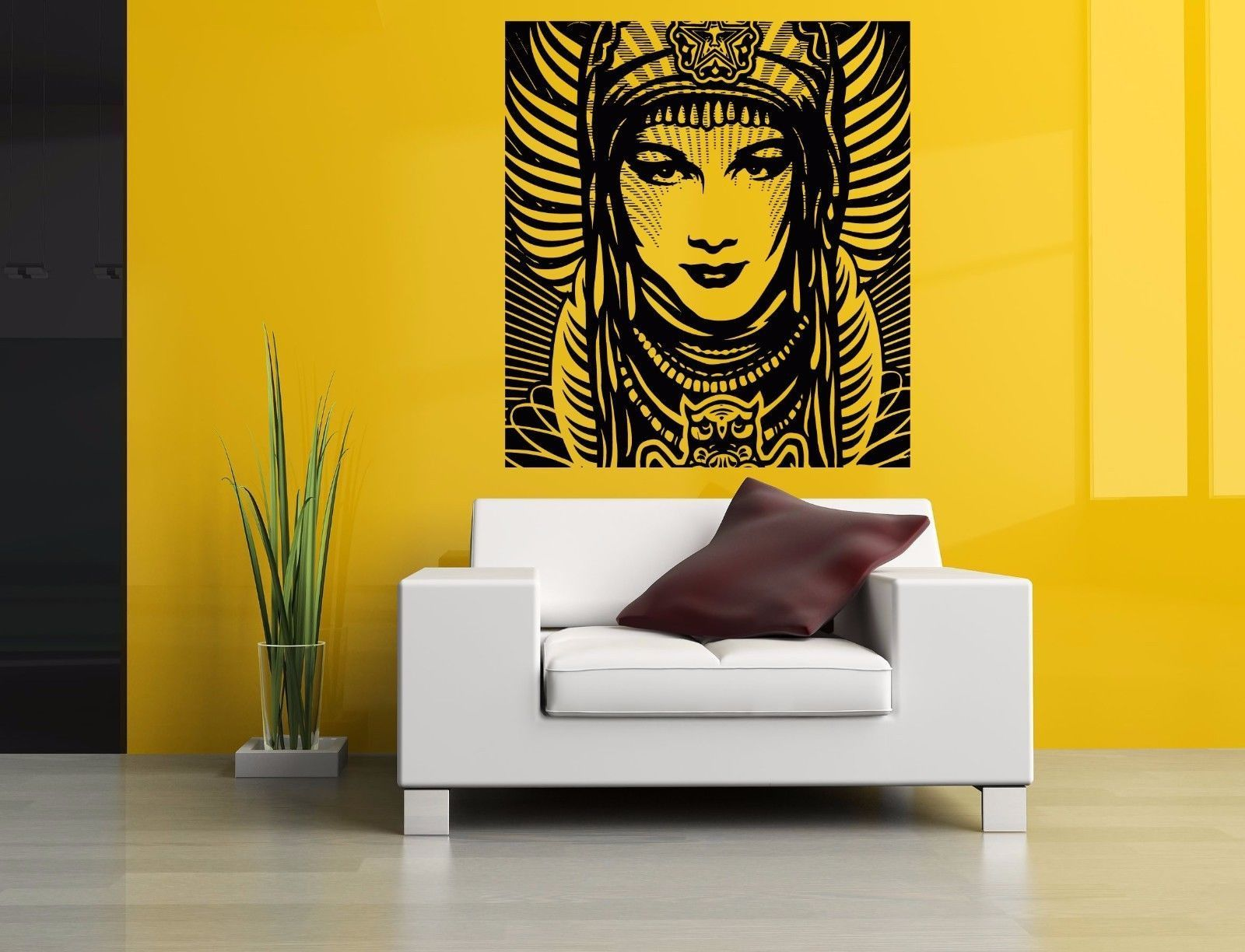 Wall Room Decor Art Vinyl Sticker Mural Decal Obey Girl Banner Big ...