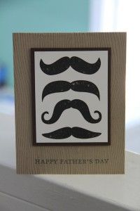 Many Mustaches for Dad