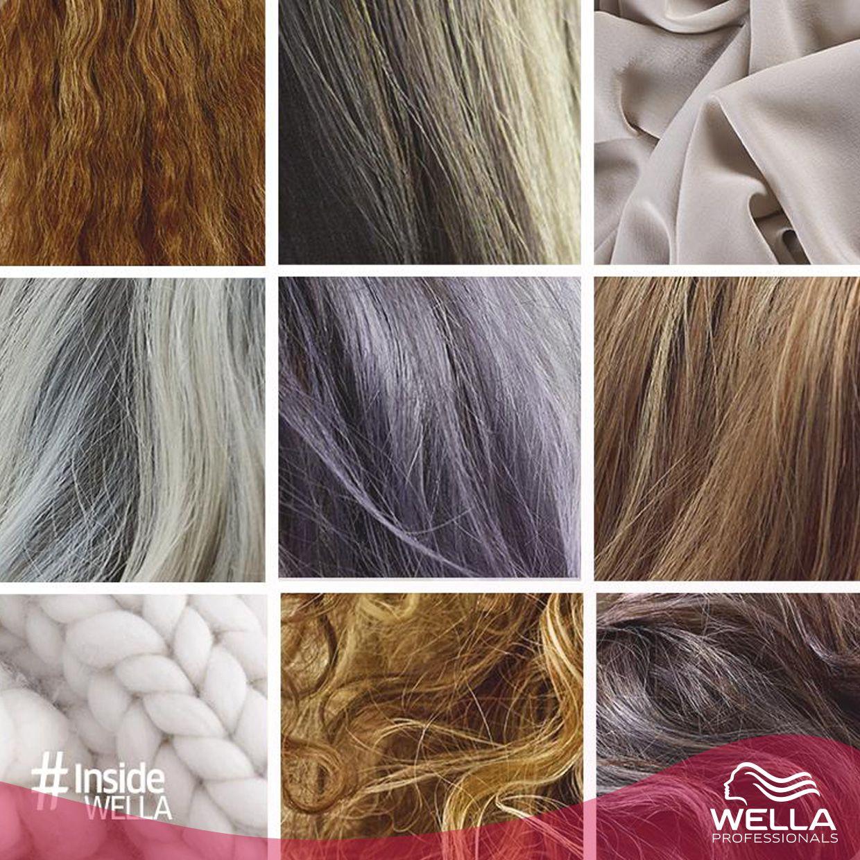 لون البروند لم يعد خاص بصاحبات الشعر الأشقر أو البني فقط نقدم لك تدرجات ألوان دقيقة من Couture Color تجعل اللون البروند يتحول الى أزرق أحمر أو بنفسجي Wella