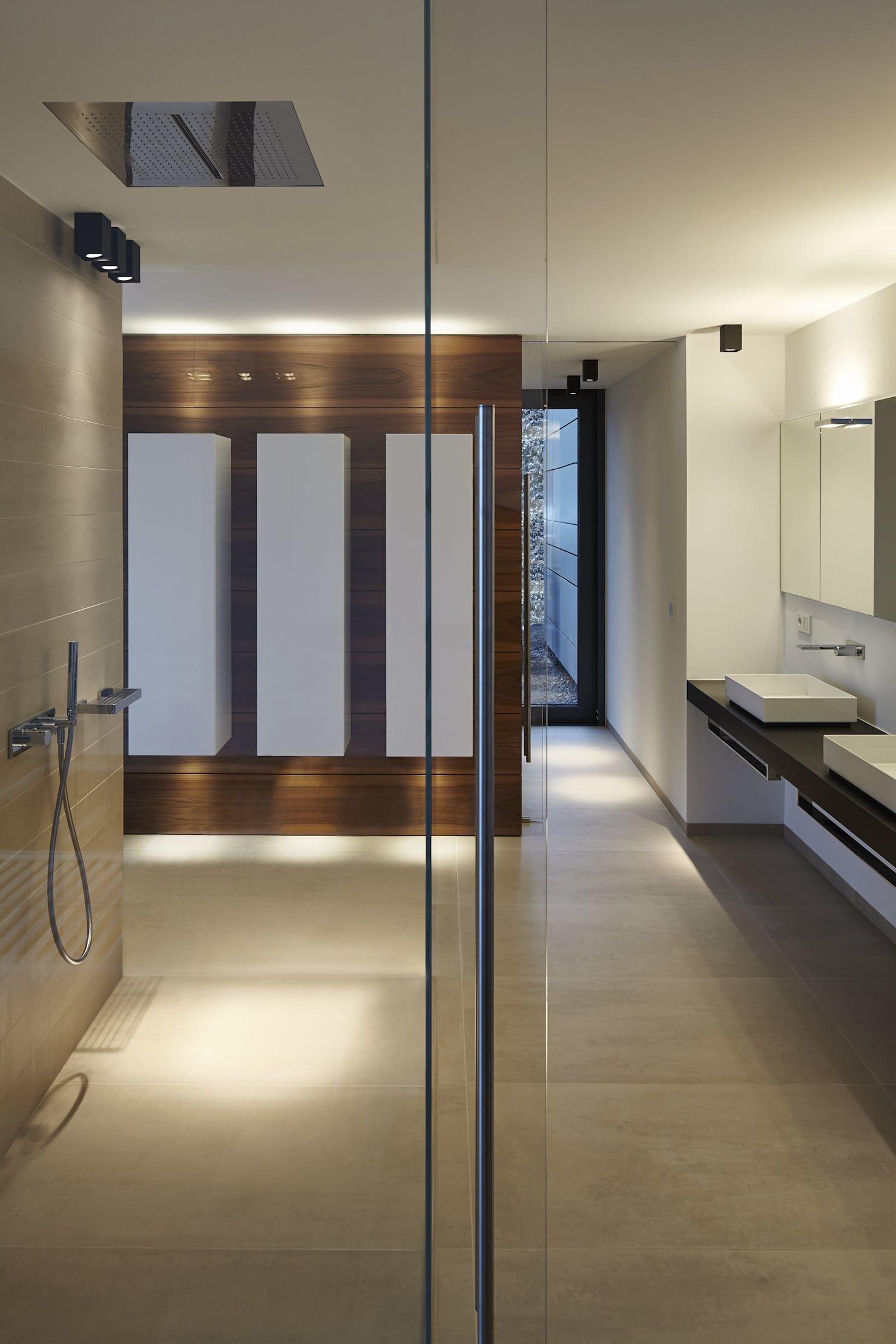 Haus Eifel Moderne Badezimmer Von Fachwerk4 - Architekten Bda