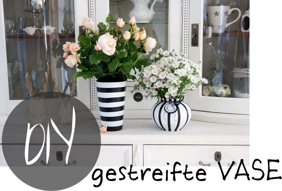 bildergebnis f r vase schwarz wei gestreift design pinterest vase weihnachten und dekoration. Black Bedroom Furniture Sets. Home Design Ideas