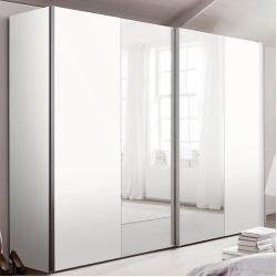 Kleiderschranke Mit Spiegel Schwebeturenschrank 216 Cm H X 300 Cm B X 68 Cm T Dustinwayfair De Decorati In 2020 Mirrored Wardrobe Diy Wardrobe Appartment Decor