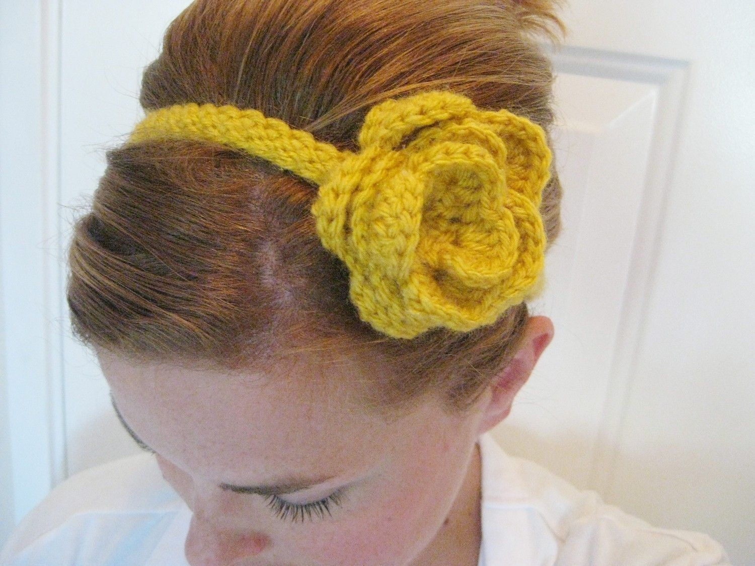Just made this crochet headband. So easy | Crochet | Pinterest ...