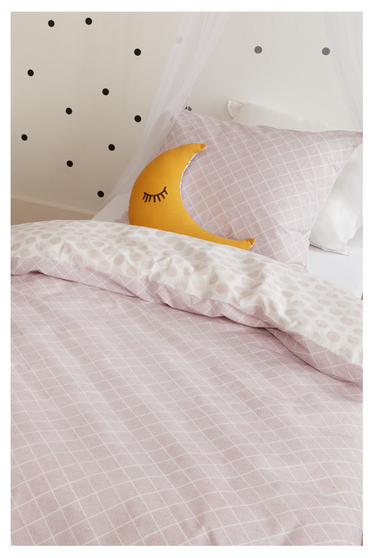 Kinder Bettwasche Nolah Pink Sorgt Fur Susse Kindertraume Satamo Bettwasche Kinder Bettwasche Madchen Bett