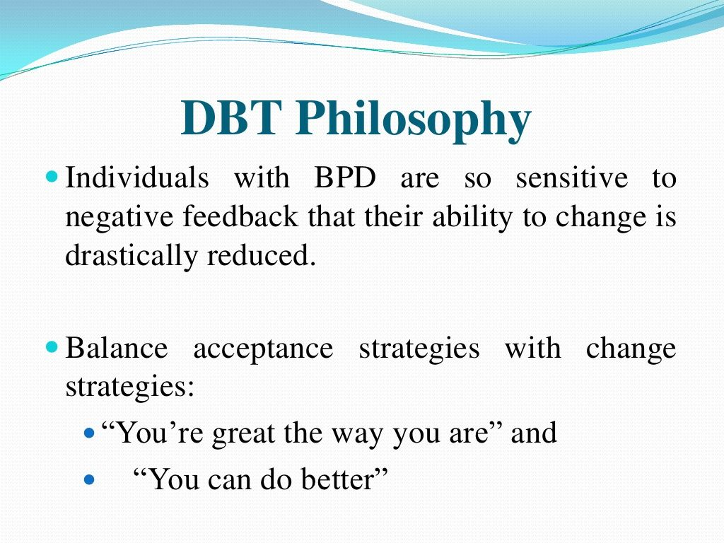 Dbt Philosophy Powerpoint Presentation 150 Slides