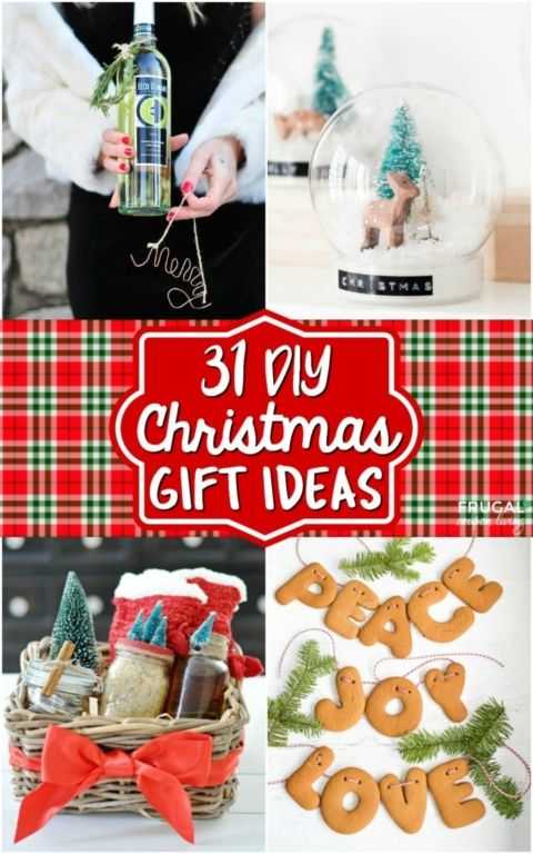 31 diy christmas gift ideas pinterest solutioingenieria Images