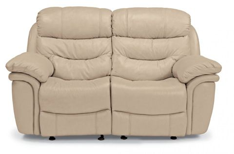 Groovy Flexsteel Westport Leather Double Reclining Loveseat Machost Co Dining Chair Design Ideas Machostcouk