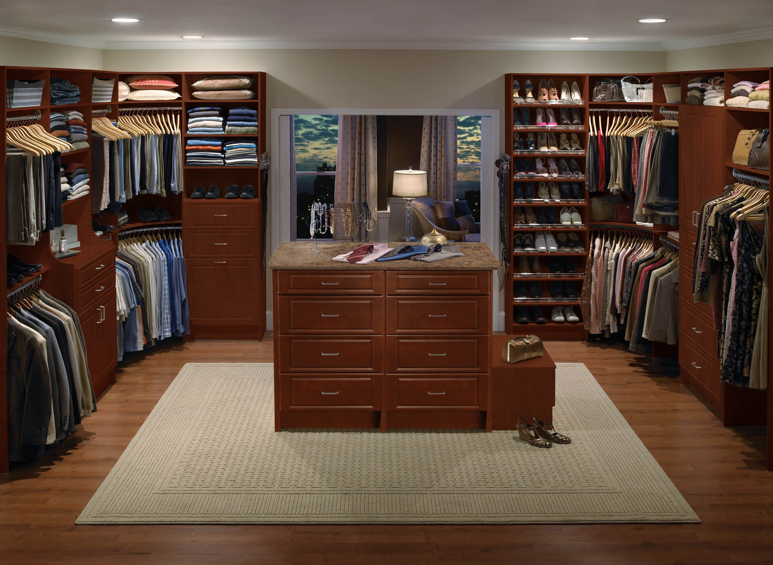 Visit Showroom Partners Online For Complete Details On ClosetMaid Custom  Closets.