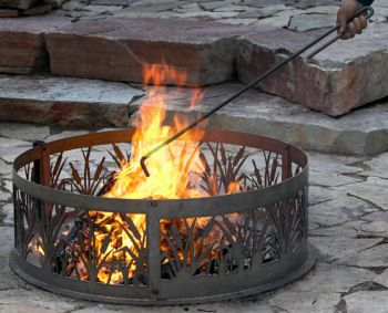 Fire Poker Campfire Log Mover Fire Pit Propane Patio