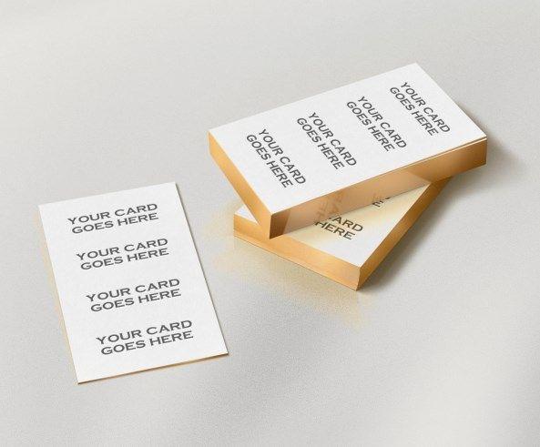 Golden edge business cards psd mockup business card mockups free golden edge business cards psd mockup business card mockups reheart Gallery