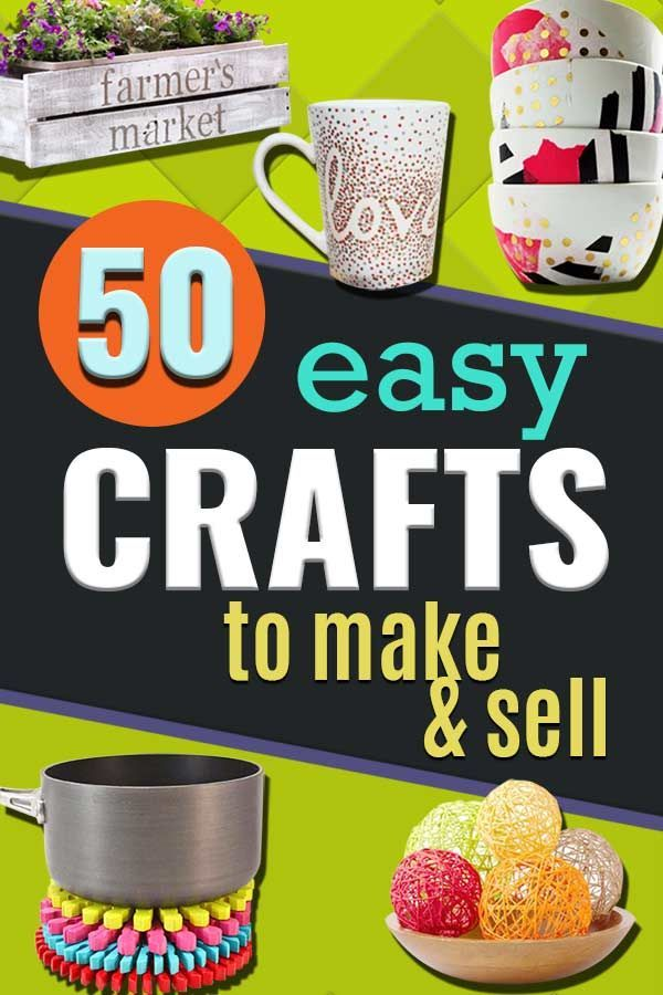 Easy Crafts to Make and Sell - DIY Ideas to Sell on Etsy and…