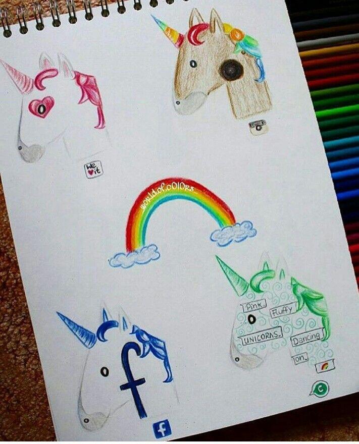 Wow! Vind jij dit ook zo'n leuk idee?! Ik wel!! Ik ga hem ook zo snel mogelijk tekenen! Q: Welke Unicorn vind jij het leukste?
