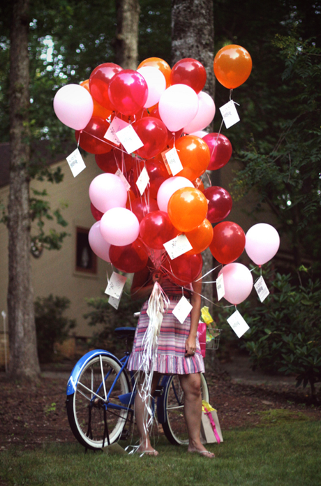 30 Balloons Wishes Birthday Tied To Helium Cute Idea Do For Every As A Tradition Starting From When Kids Are Little