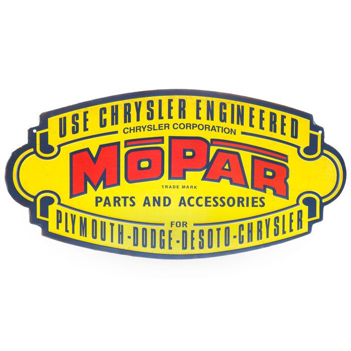 Mopar Parts Accessories Metal Sign Mopar Garage Door Rollers Wall Art Quotes