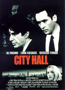City Hall is a 1996 film directed by Harold Becker  It stars