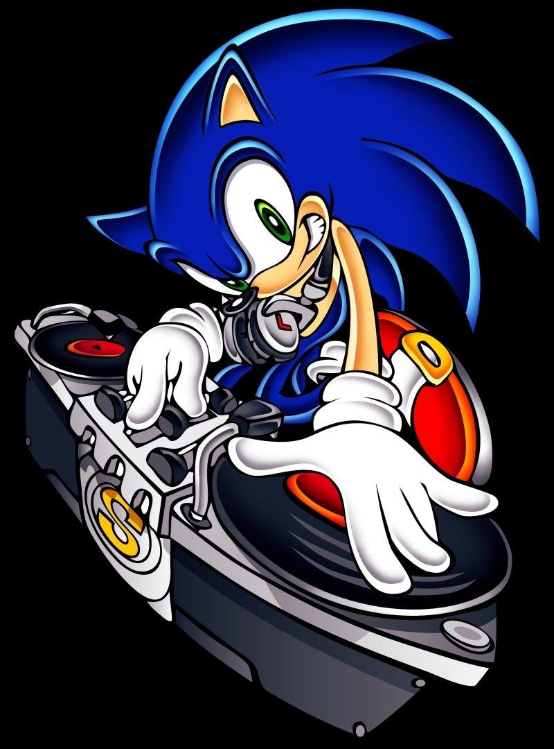Sonic The Hedgehog Sonic The Hedgehog Dj Sonic Sonic The