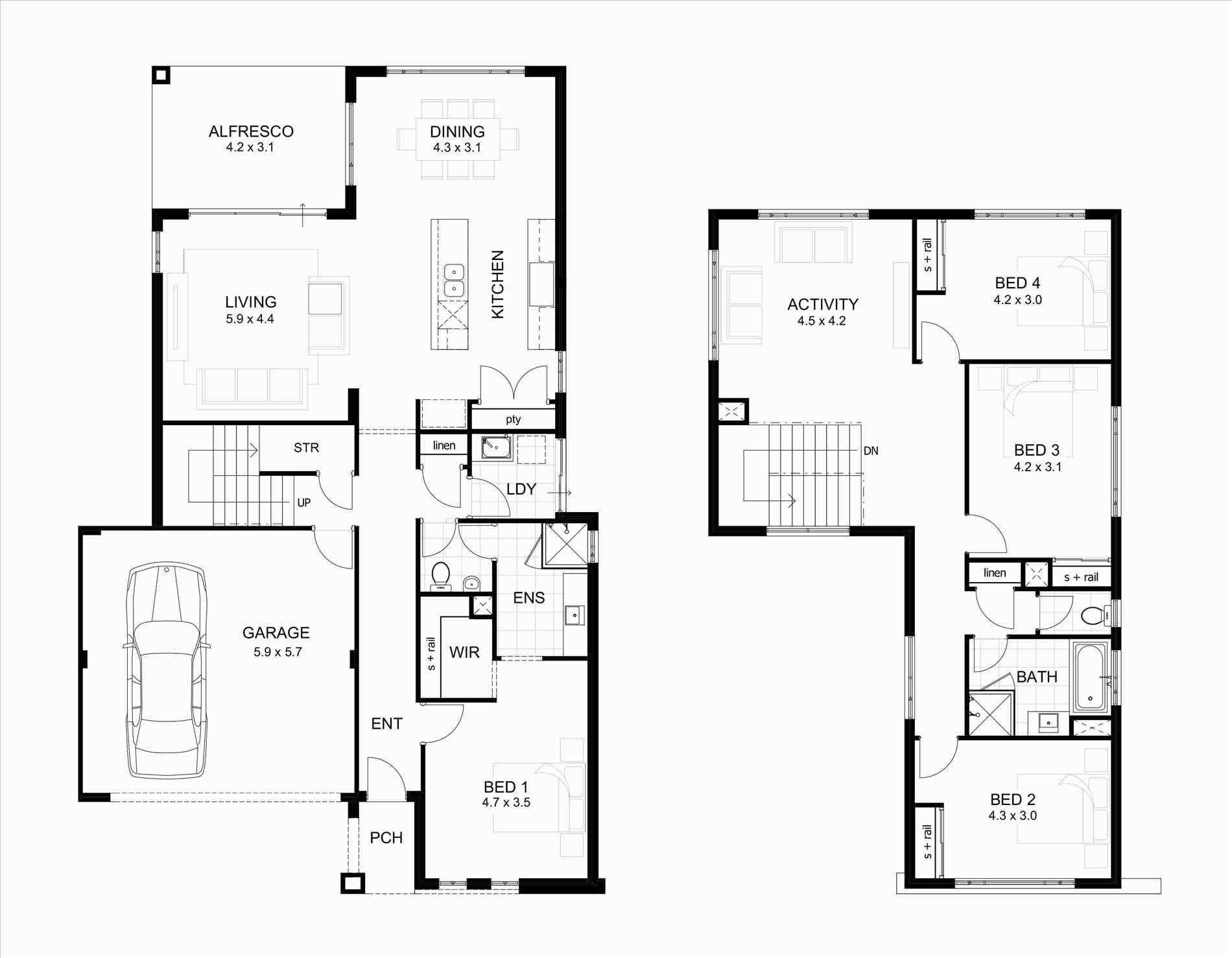 Apartment Plans Narrow