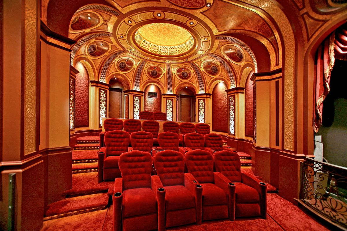 Private Movie Theater In Irvine Ca Designed By Theo Kalomirakis Home Theater Decor At Home Movie Theater Bar Design Restaurant