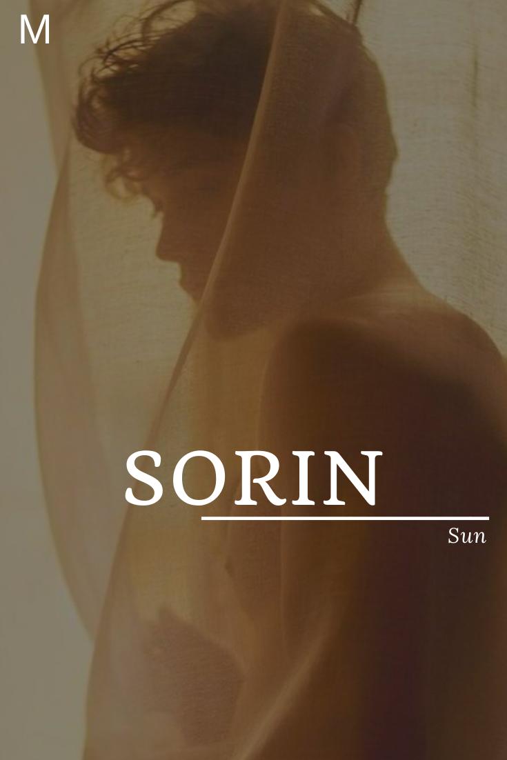 Sorin bedeutet Sonne #Sorin