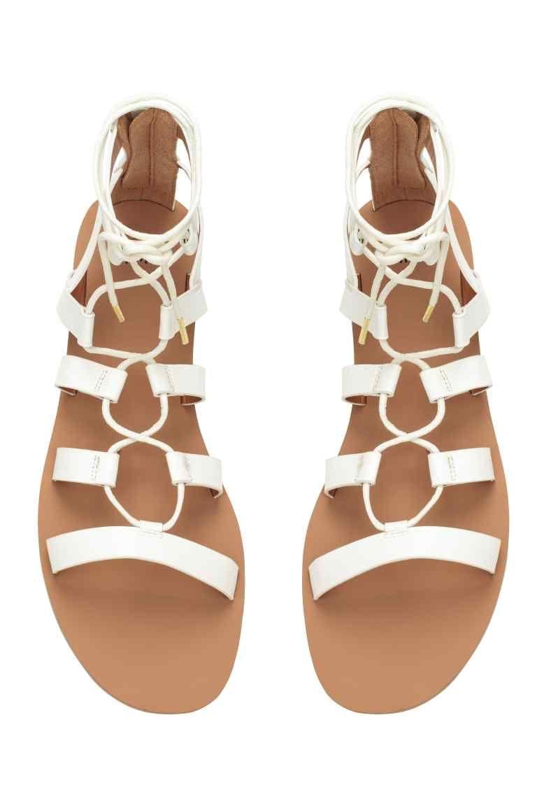 456321376892 Sandale cu șireturi