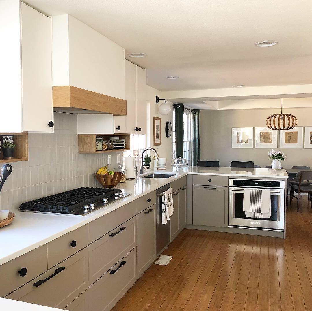 Grey And White Kitchen Gray And White Kitchen Kitchen Kitchen Cabinets