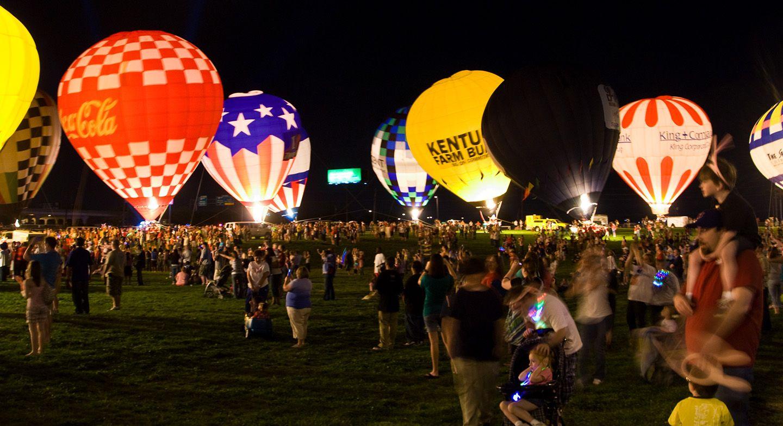 Louisville Balloon Glow 58