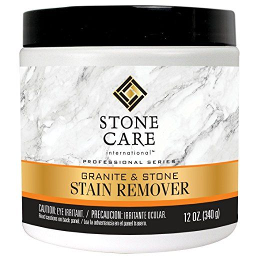 Stone Care International Stone Stain Remover Poultice Powder 12oz Stain Remover Granite Stone Stone Surface