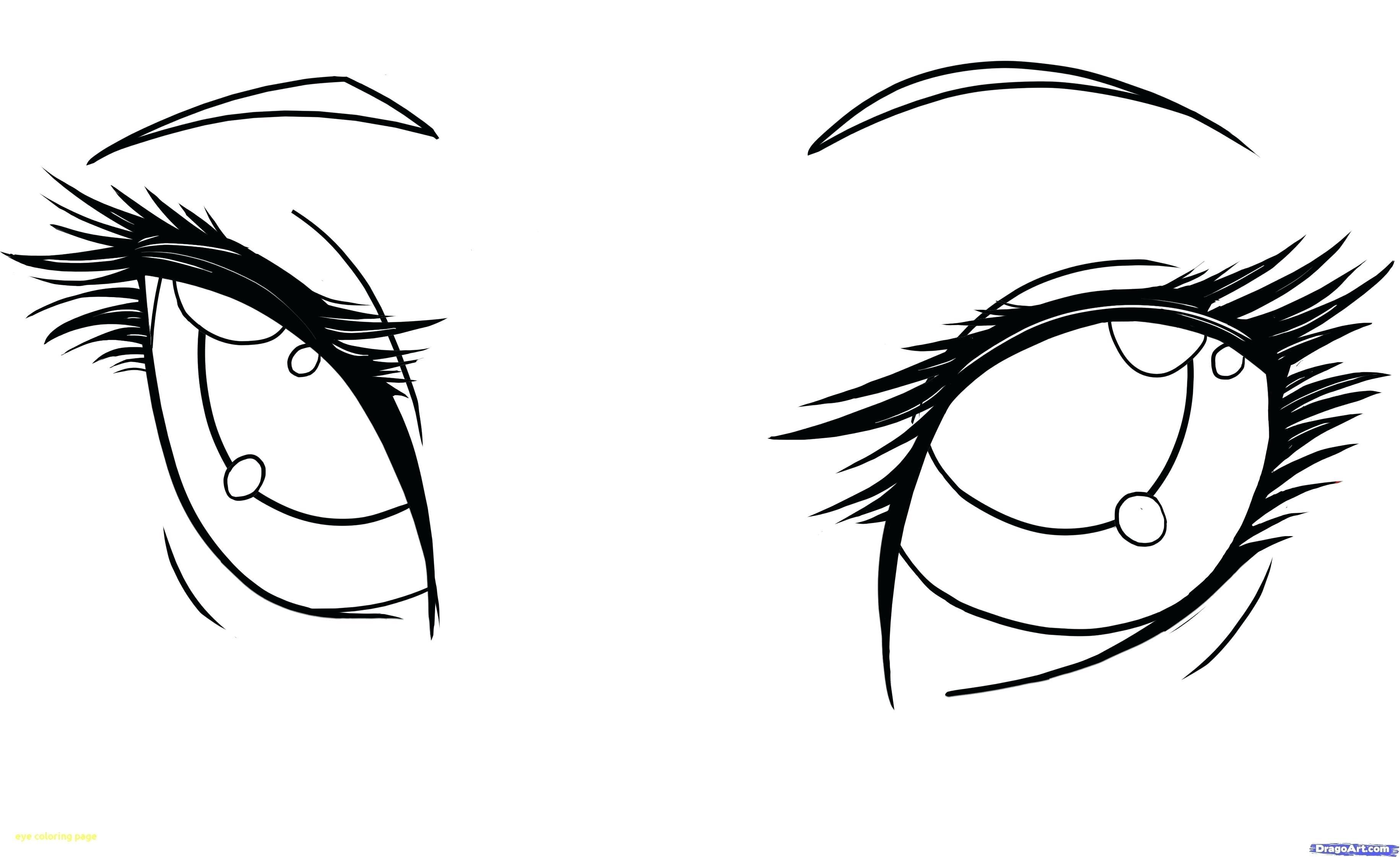 38 Coloring Page Eyes Girl Eyes Drawing How To Draw Anime Eyes Anime Eyes