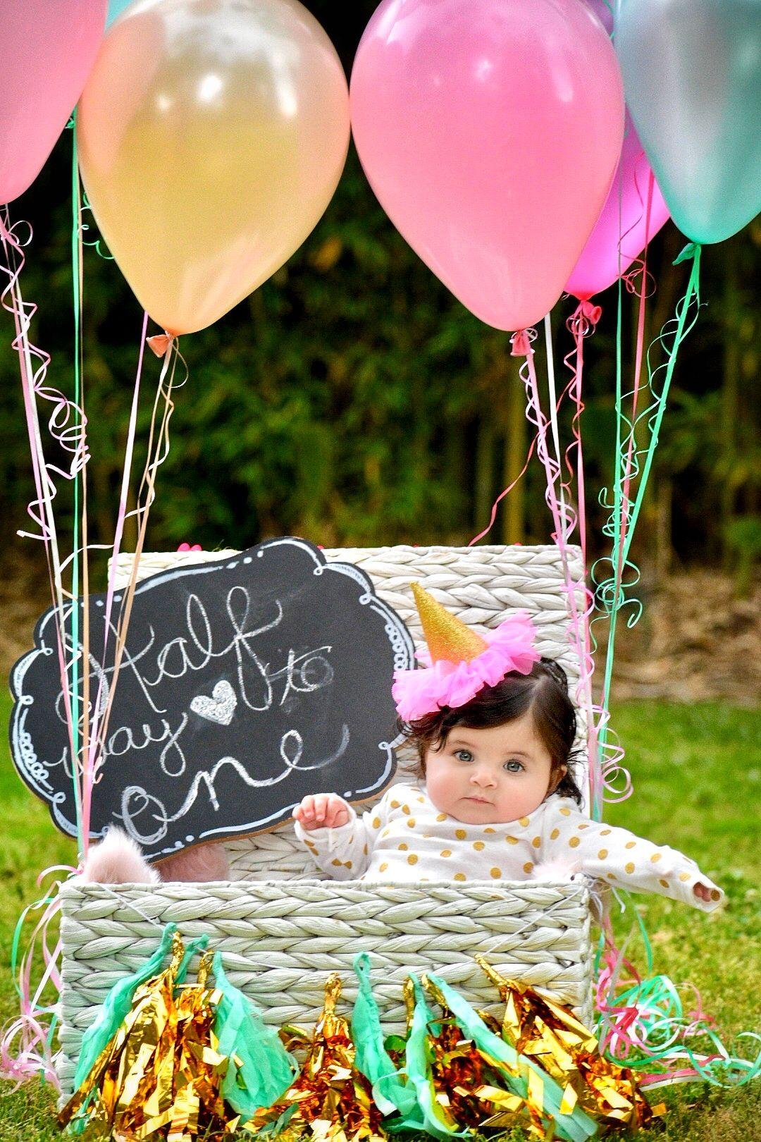 Half Birthday Photo Shoot Half Birthday Baby Half Birthday