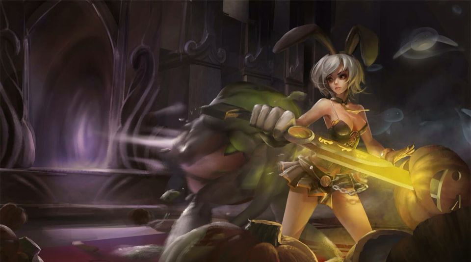 Battle Bunny Riven Fan Art And Zac