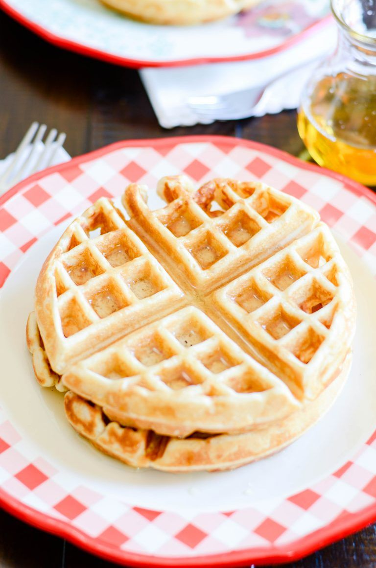 Easy and fluffy belgian waffles waffles homemade and recipes easy and fluffy belgian waffles forumfinder Gallery
