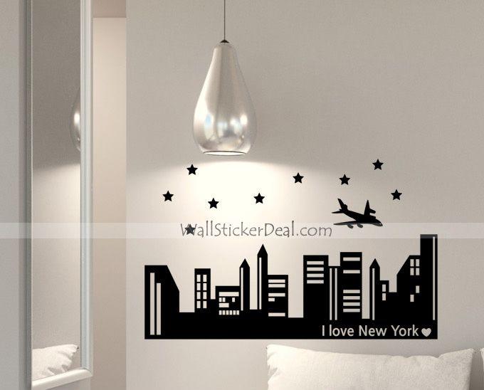 I Love New York Wall Sticker