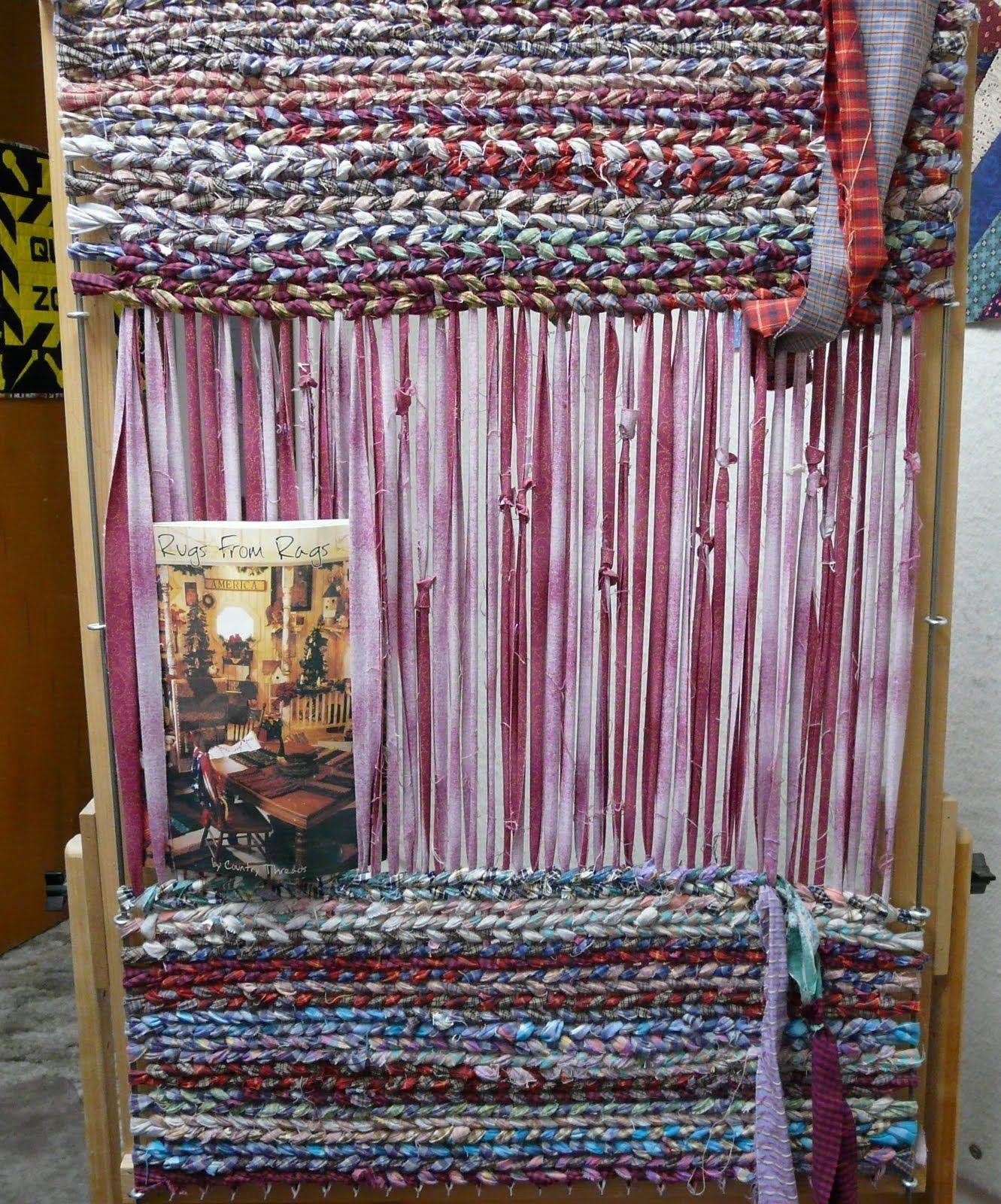 Plans For Rag Rug Loom: Rag Rugs, Looms & Frames