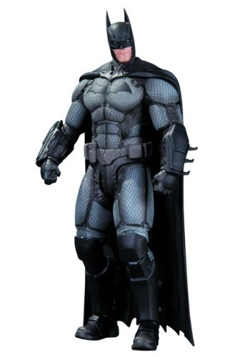 DC COMICS ARKHAM ORIGINS BATMAN ACTION FIGURE DARK KNIGHT SERIES 1