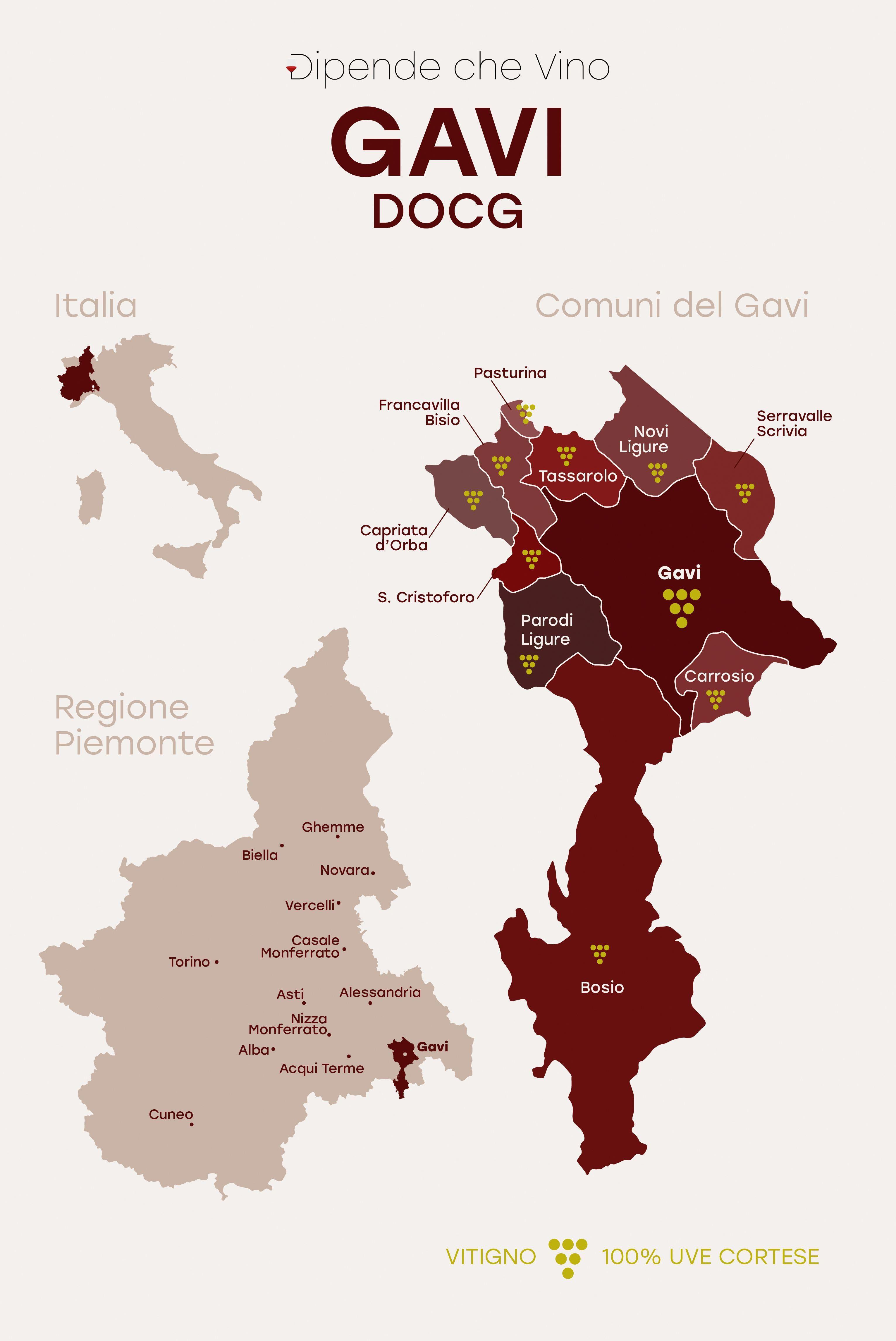 Pin By Cecilia Martinez On 99 Wine News Wine Map Italian Wine Gavi Wine