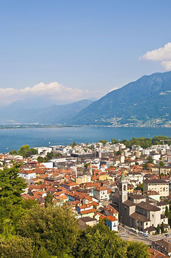 Locarno, Lake Maggiore, Switzerland