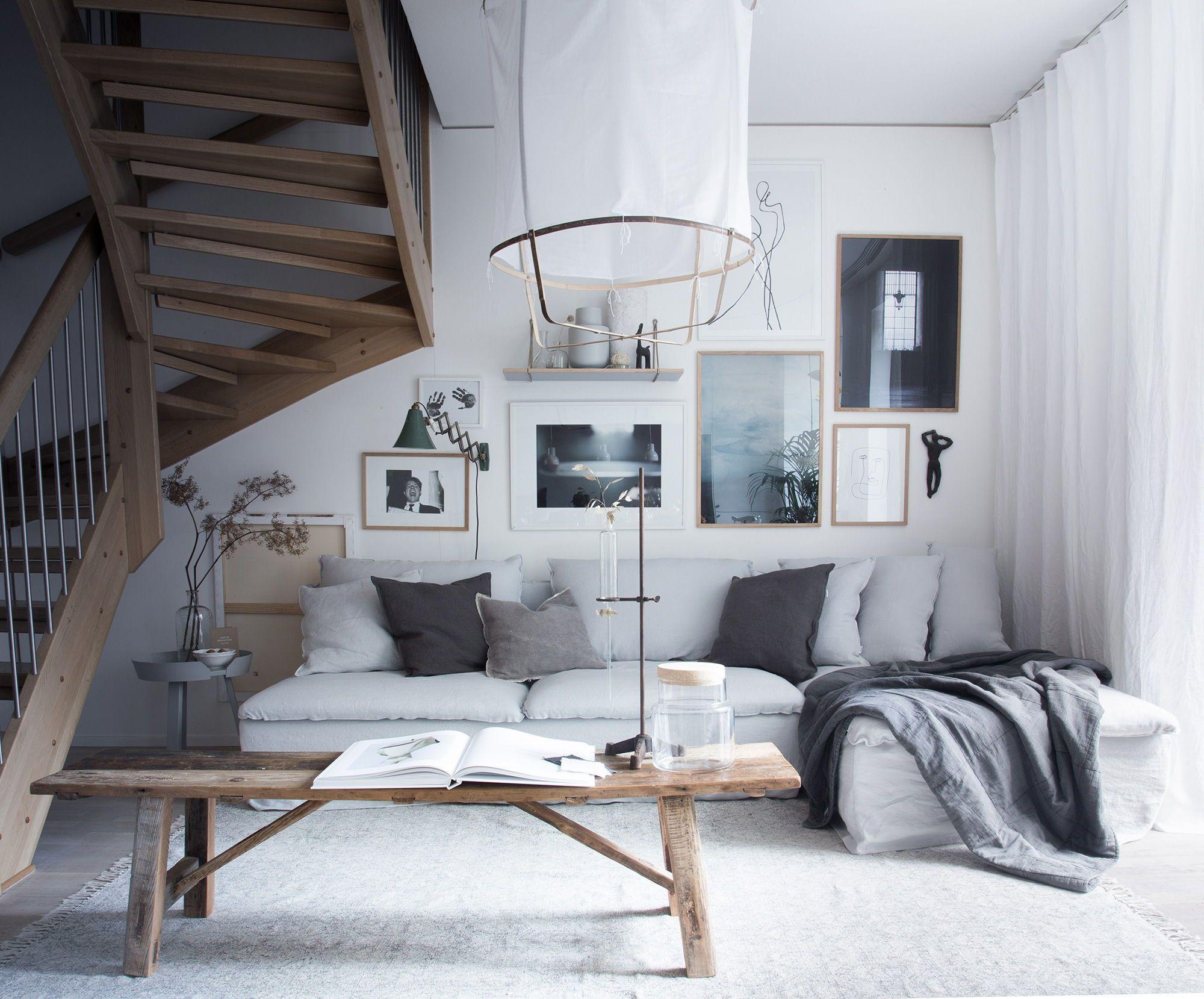 My Scandinavian Homeu0027s stunning layered yet minimalist