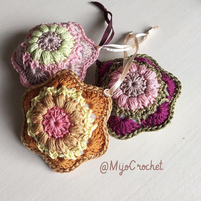 Ravelry: Wind Flower Decoration pattern by Johanna Lindahl ...