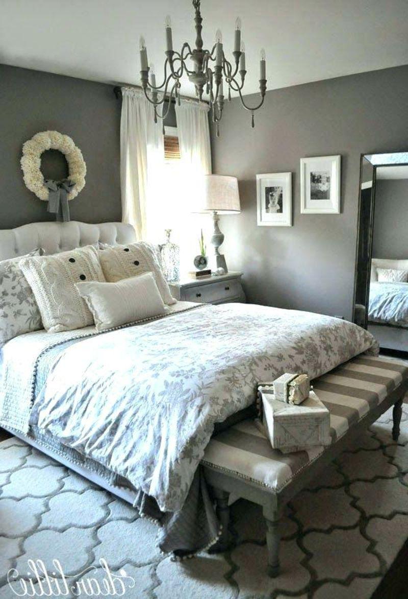 Graue Schlafzimmer Wandfarbe In 100 Beispielen Hauptschlafzimmer