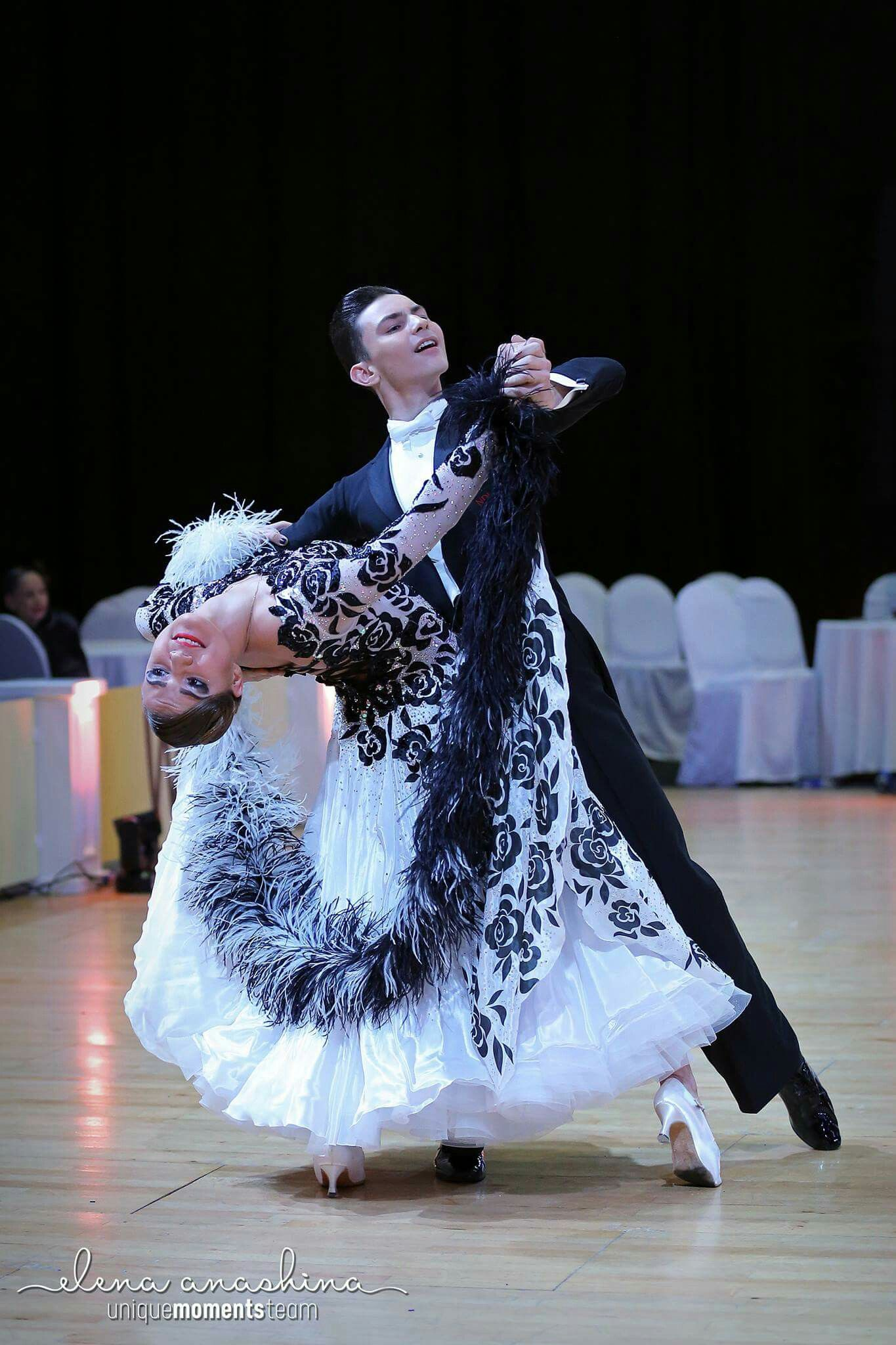 7654b4b1 Pin od Katarzyna Żylińska na Dance ballroom latin | Taniec, Sukienka ...